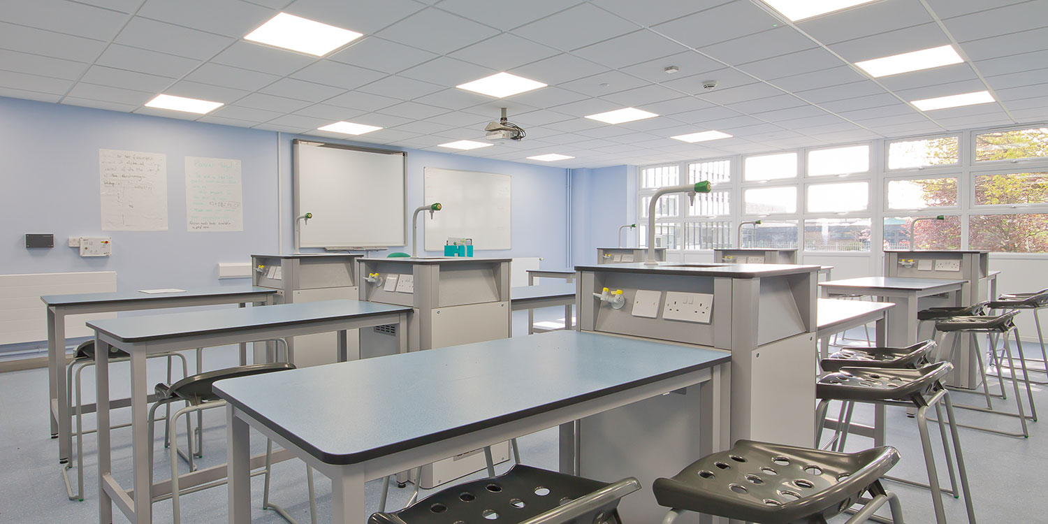Provision of two new science labs and prep area for Gable Hall School in Thurrock, funded via the Condition Improvement Fund