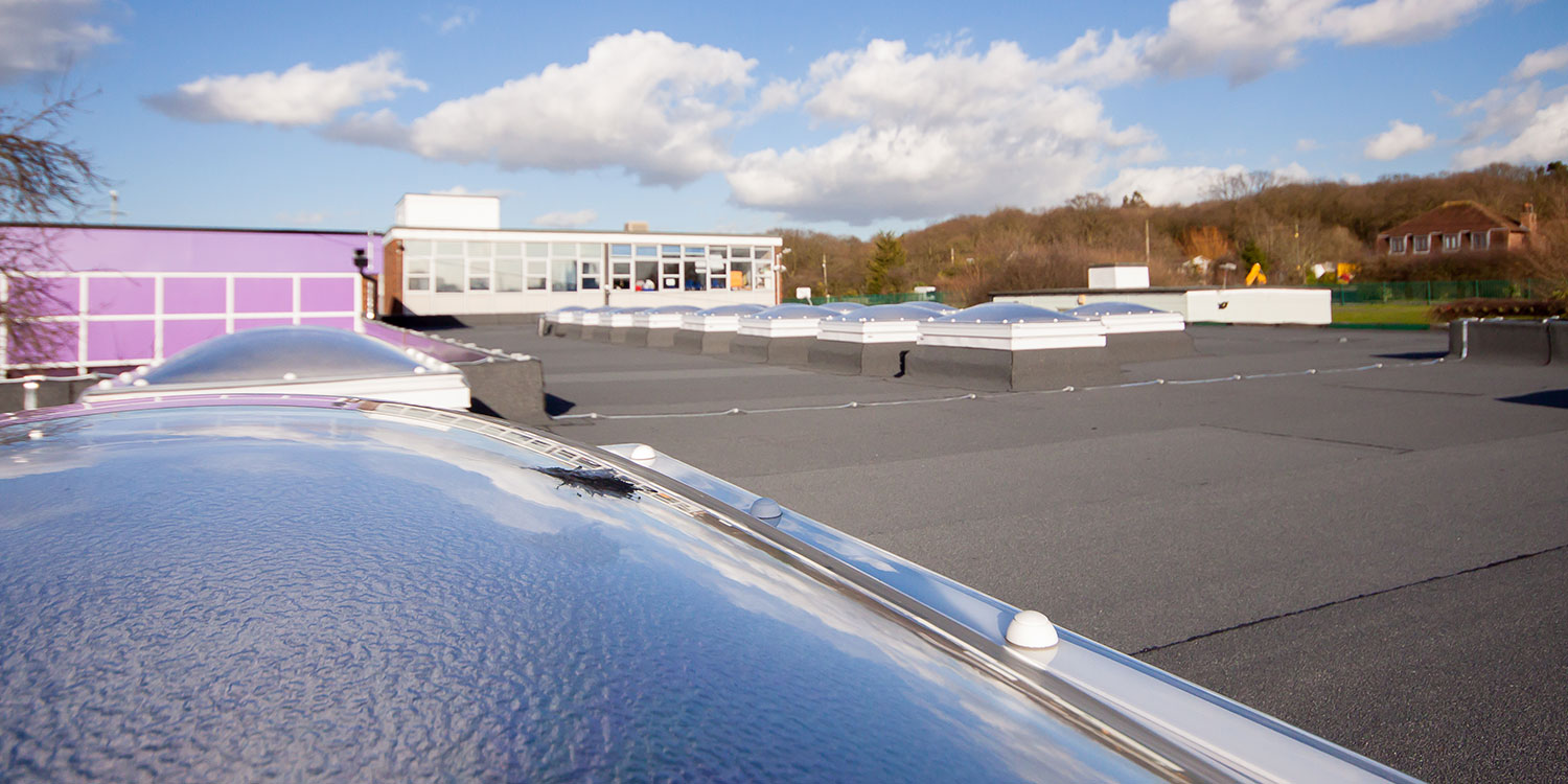 CIF-funded roof replacement scheme at the Kents Hill Infant Academy