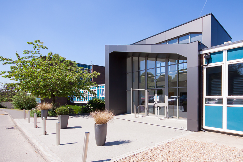 New Front Entrace - Beaconsfield High School - M+C