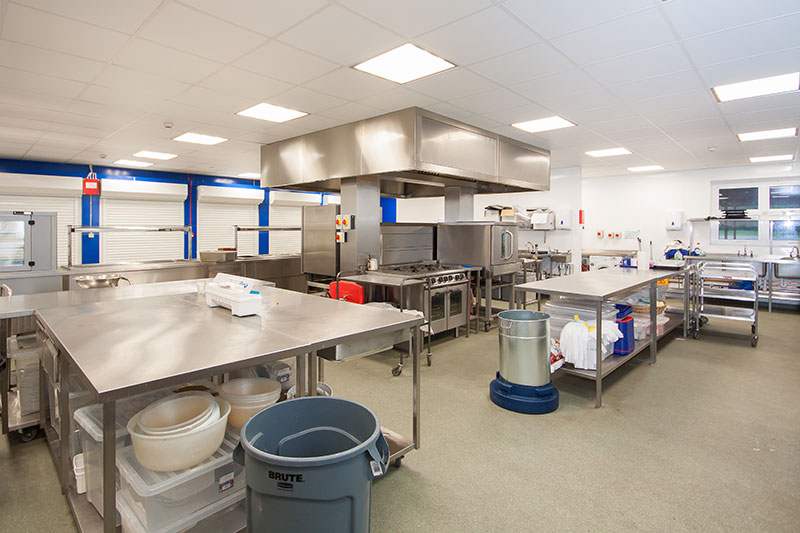 Hassenbrook Academy - New kitchen installation