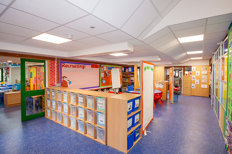 Munday + Cramer successfully achieved funding for a full rewire at Ryedene Primary School