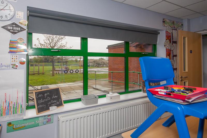 New Classroom - Rydene Primary School
